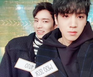 kpop, pentagon, and wooseok image