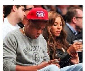 beyoncé, couple, and funny image