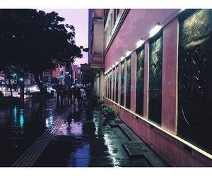 city, purple, and purple aesthetic image