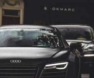 audi and black image