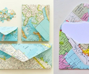 diy, map, and travel image