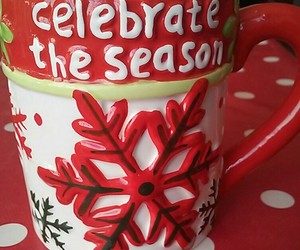 celebrate, red, and coffee image