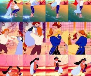 disney, love, and princess image