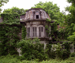 house, abandoned, and home image