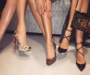 beauty, Louis Vuitton, and christian louboutin image