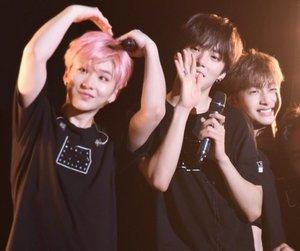 minhyuk, hyungwon, and hyunwoo image
