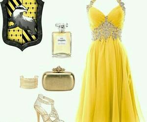 dress, hogwarts, and hufflepuff image