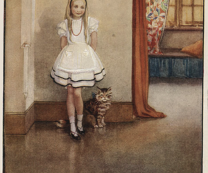 alice and illustration image