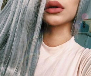 hair, lips, and beauty image