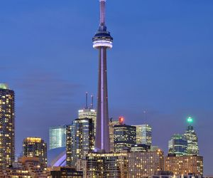 canada, ontario, and CN tower image