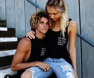 couple, love, and alexis ren image