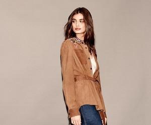 brown hair, girl, and fashion image