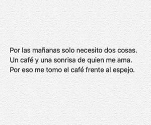 frases, love, and cafe image