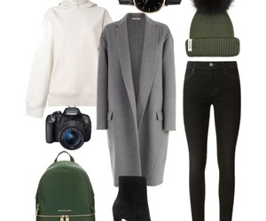 autumn, backpack, and boots image