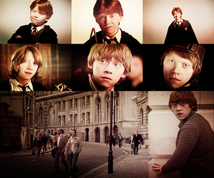 ginger, ron weasley, and weasley image