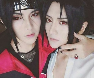 itachi, sasuke, and cosplay image