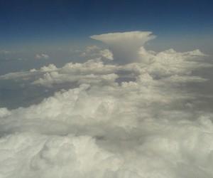 plane, sky, and universe image