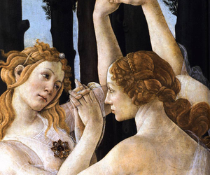 botticelli, painting, and fine art image