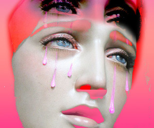 crying, maria, and popart image