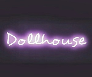 neon, dollhouse, and light image