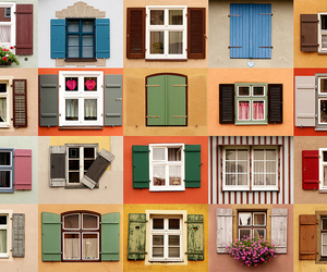 windows and colorful image