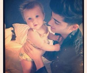 baby, zayn, and 1d image