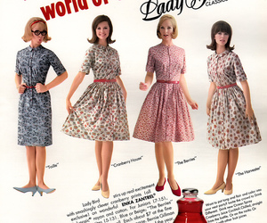 1960s, 60s, and dress image