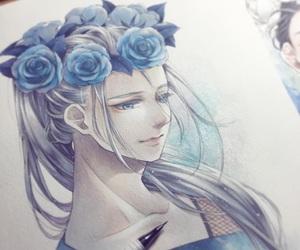 yuri on ice, katsuki, and nikiforov image