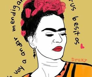 drawing and frida kahlo image