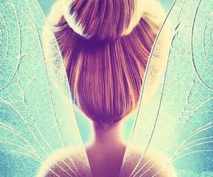 blue, tinkerbell, and cartoon image