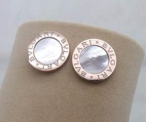 earrings and bvlgari image