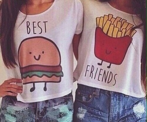 best friends, bff, and chips image