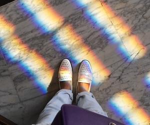 fashion, rainbow, and tory burch image