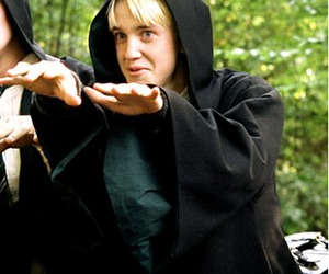 draco malfoy, harry potter, and azkaban image