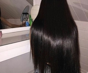 hair, beauty, and goals image
