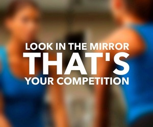 competition, motivation, and workout image