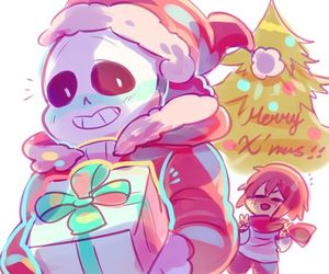 chirstmas, merry christmas, and sans image