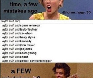 Taylor Swift, Harry Styles, and funny image