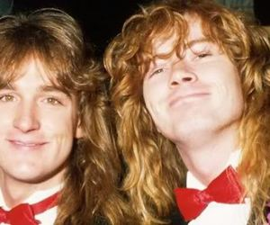 dave mustaine and david ellefson image