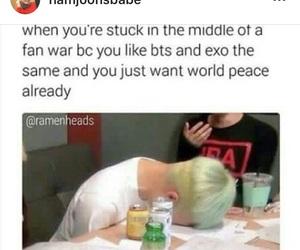 exo, kpop, and exo meme image