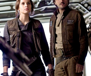 rogue one, star wars, and jyn image