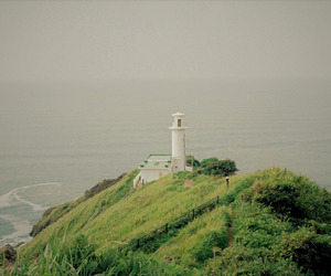 landscape, lighthouse, and simplicity image