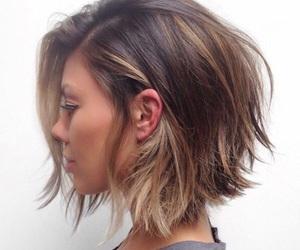 hair, short hair, and beauty image