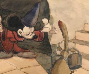 disney, mickey, and drawing image