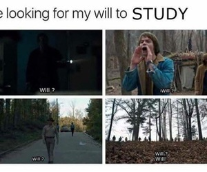 stranger things, funny, and will image
