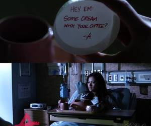 pretty little liars, tv show, and emily fields image