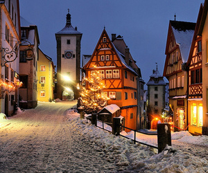 snow, germany, and winter image