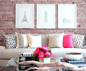 home, room, and pink image