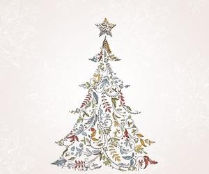 merry christmas, snow, and christmas image