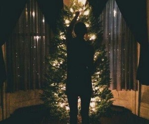 christmas, happy, and christmas tree image
